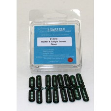 12019 - Marker & Tail Light Lens Accessory Pack - Green
