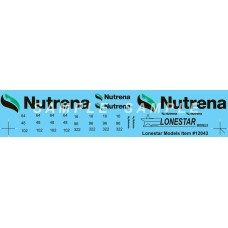 12043 - Decal Set - Nutrena, for Wilson 43' Pacesetter Grain Trailer