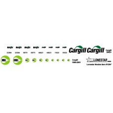 12047 - Decal Set - Cargill for Wilson 43' Pacesetter Grain Trailer