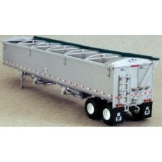 6000 - Wilson Pacesetter 43' Grain Trailer Kit - Silver Body / Black Tarp