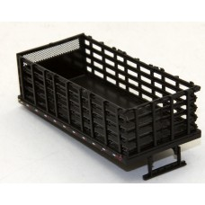 7021 - Stake Bed Body - Molded Black